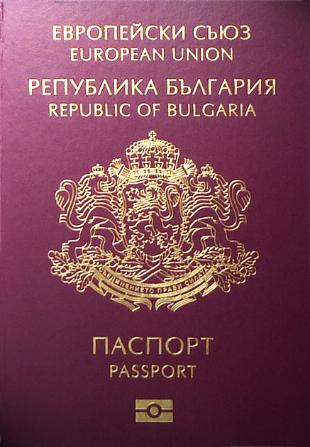Bulgarian passport